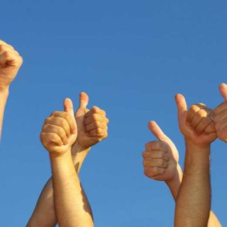 Thumbs Up - Banner Image for New Program Gaining Traction! Blog