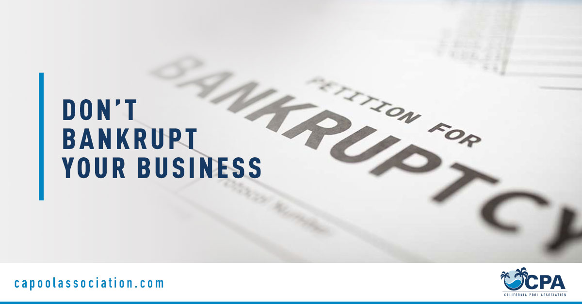 Petition for Bankruptcy Form - Banner Image for Don't Bankrupt Your Business Blog