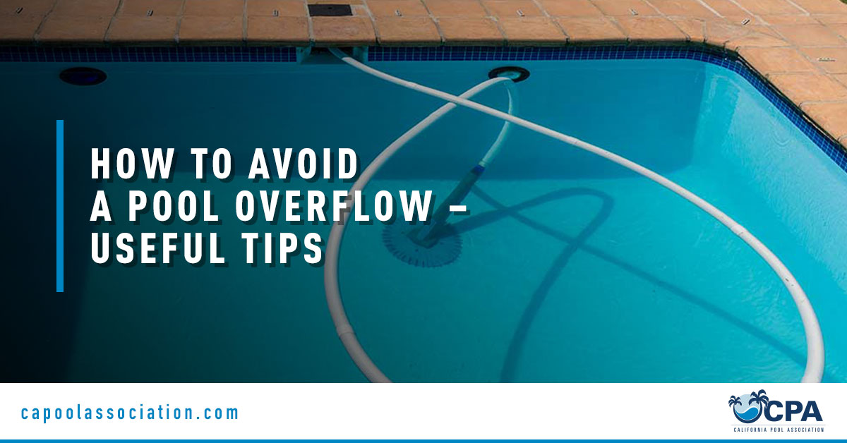 Swimming Pool Image - Banner Image for How to Avoid a Pool Overflow – Useful Tips Blog