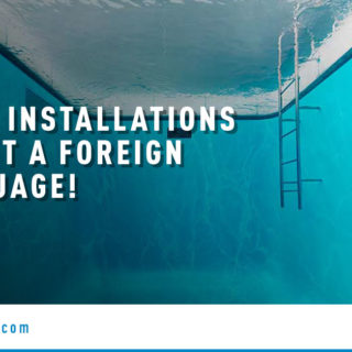 Underwater Swimming Pool - Banner Image for Liner Installations Aren't a Foreign Language! Blog