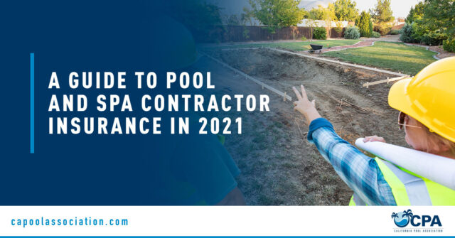 Pool Workers - Banner Image for A Guide to Pool and Spa Contractor Insurance in 2021 Blog
